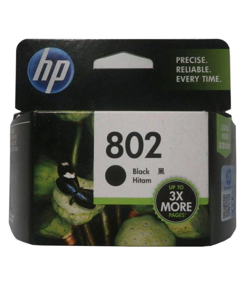 Indian Technology HP 802 Big Black Ink Cartridge Single