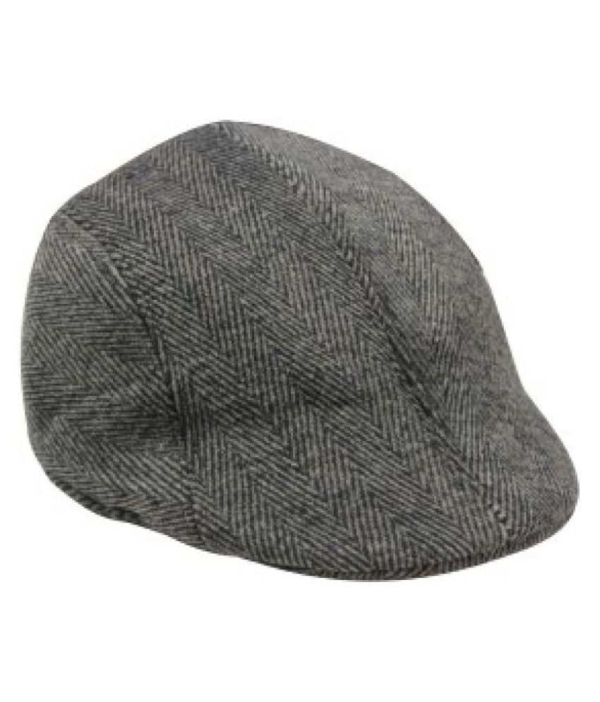 683ab7bace9 Tahiro Gray Wollen Golf Cap  Buy Online at Low Price in India - Snapdeal