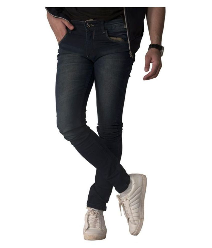 Fuel Dark Blue Slim Jeans