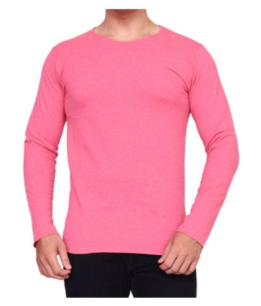 gWOWg Pink Round T-Shirt
