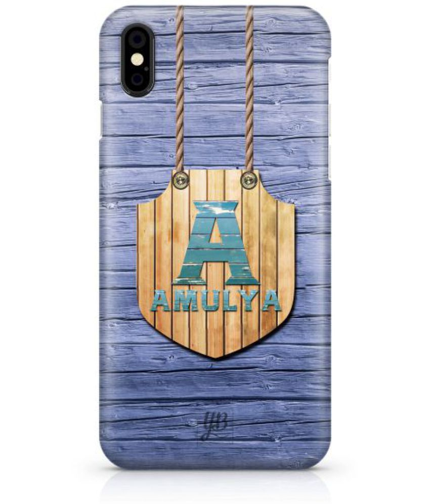 Apple iPhone X 3D Back Covers By YuBingo
