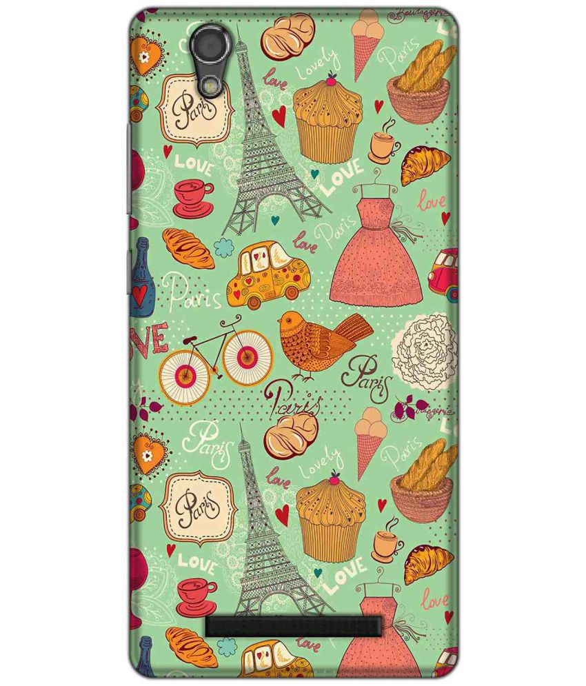 Gionee F103 Printed Cover By LOL