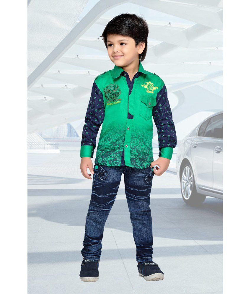 4b4ad9ef9 AJ Dezines Kids Shirt and Pant Set for Boys - Buy AJ Dezines Kids Shirt and  Pant Set for Boys Online at Low Price - Snapdeal