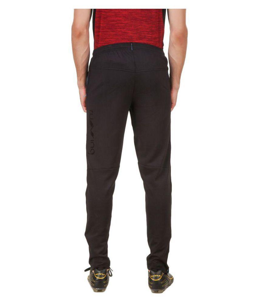 Nivia Blue Polyester Trackpants