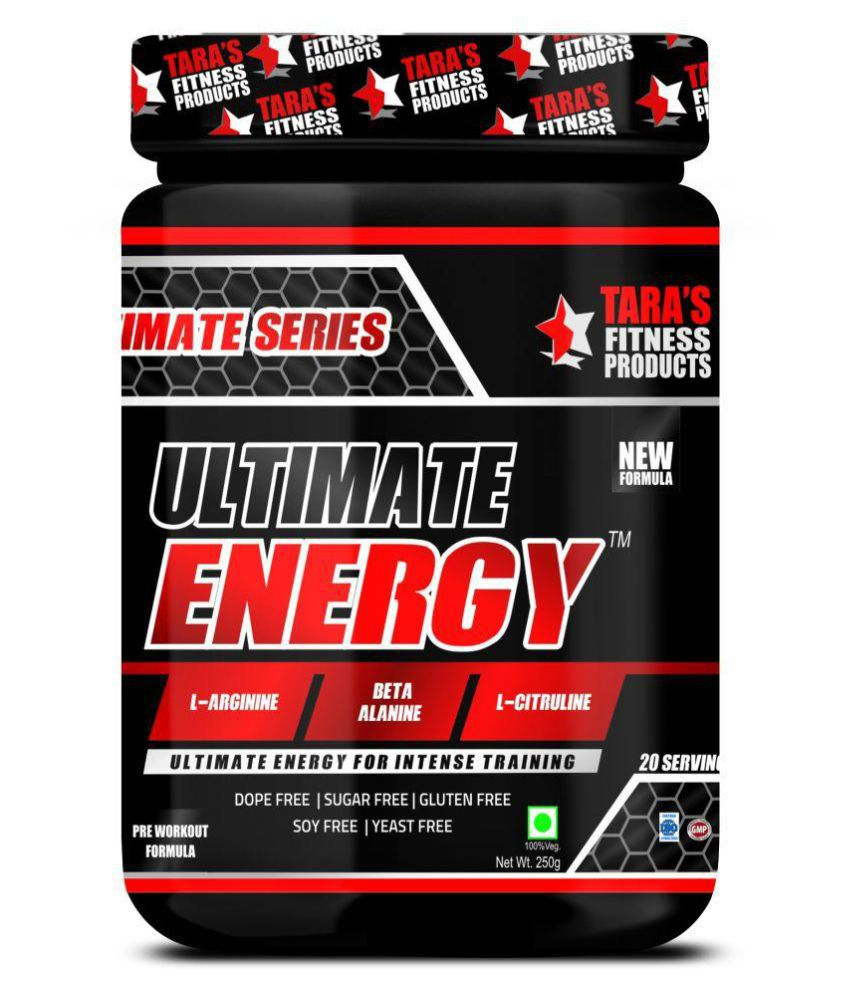 Tara Fitness Products Ultimate Energy Drink for Adult 250 gm