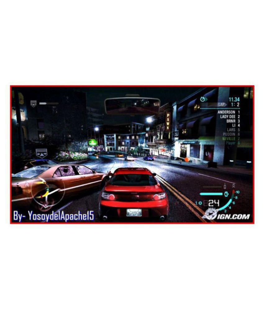 Buy Need For Speed Carbon Ps2 ( PS2 ) ( PS2 ) Online at Best