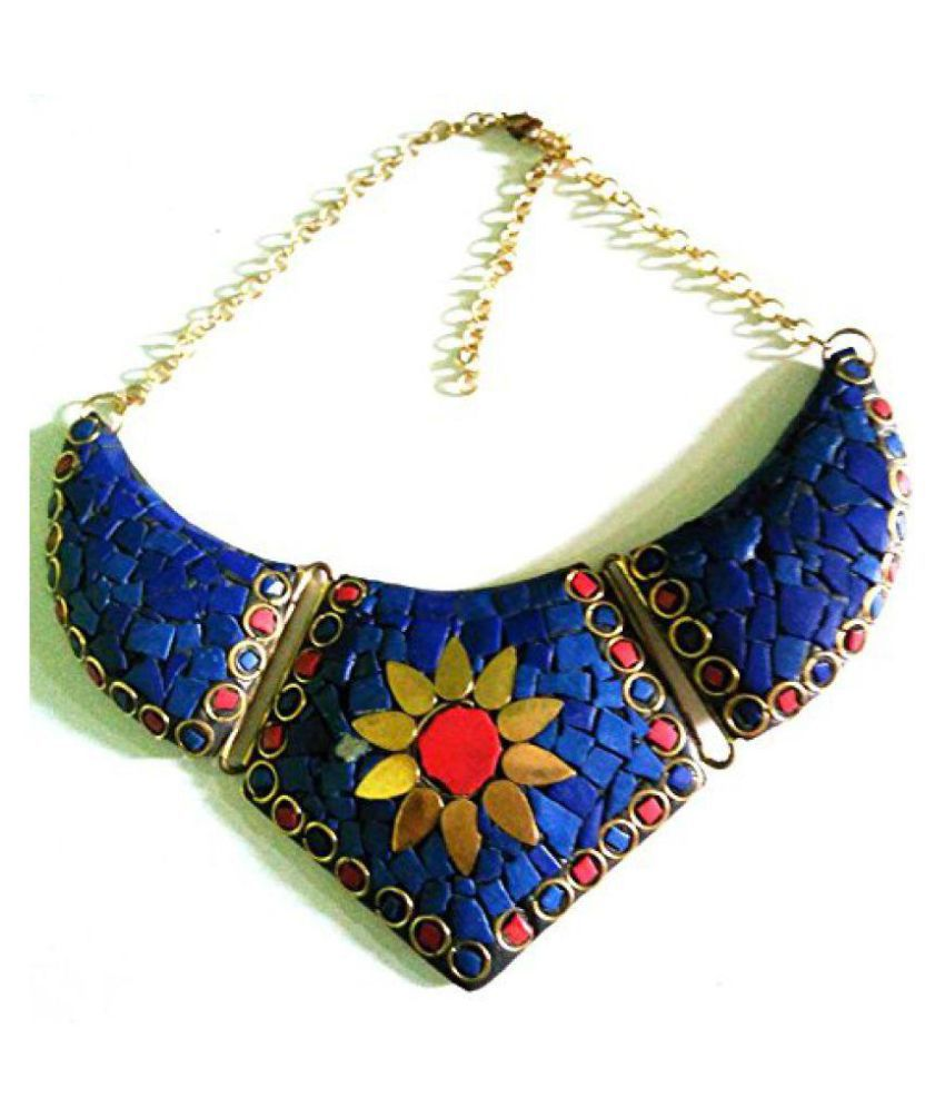 LATEST TRENDY COLLECTION FIROZA NECKLACE