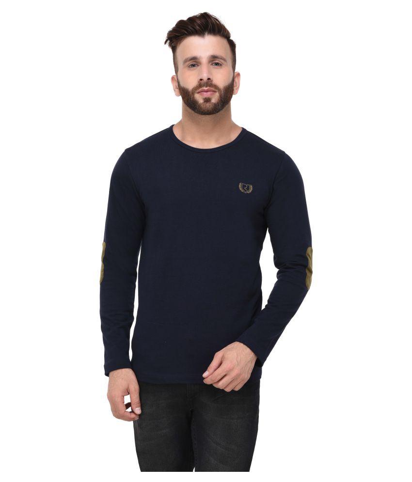 RIGO Navy Round T-Shirt