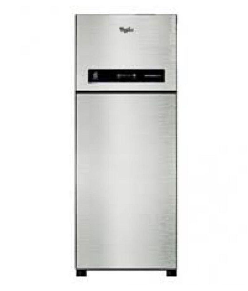 Whirlpool 340 Ltr 3 Star Professional 355elite 3S Alpha Double Door Refrigerator   Gray