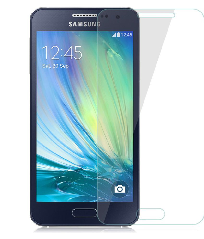 Samsung Galaxy A3 Tempered Glass Screen Guard By Zeddi