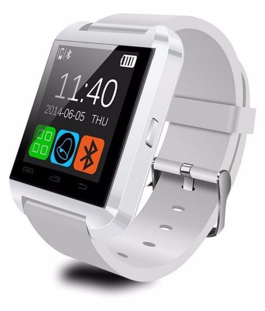 M-STARK U8 Smartwatch suitable  for Canvas Juice A77 Smart Watches