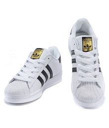 Adidas Superstar White Casual Shoes