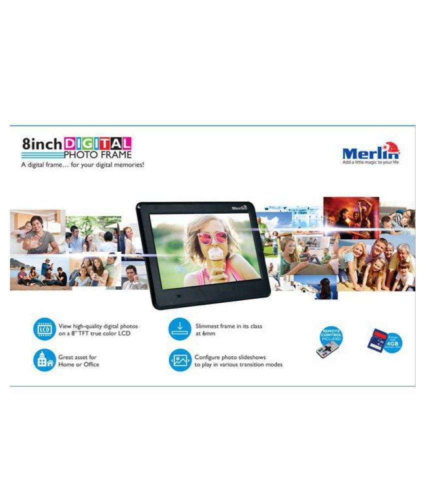 fedc50be0b9 Merlin LCD Digital Photo Frame Price in India- Buy Merlin LCD ...
