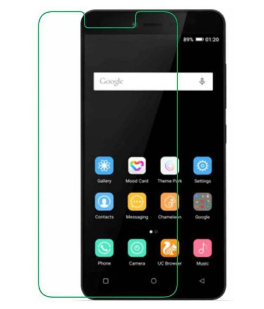 Gionee X1 Tempered Glass Screen Guard By Robux 4D