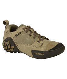 Woodland GC 1868115 KHAKI Lifestyle Khaki Casual Shoes