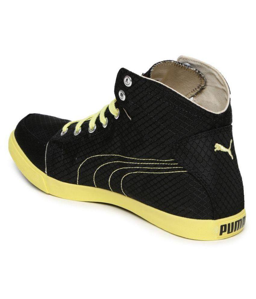 fe9718b1b435 Puma Drongos IDP Sneakers Black Casual Shoes - Buy Puma Drongos IDP ...