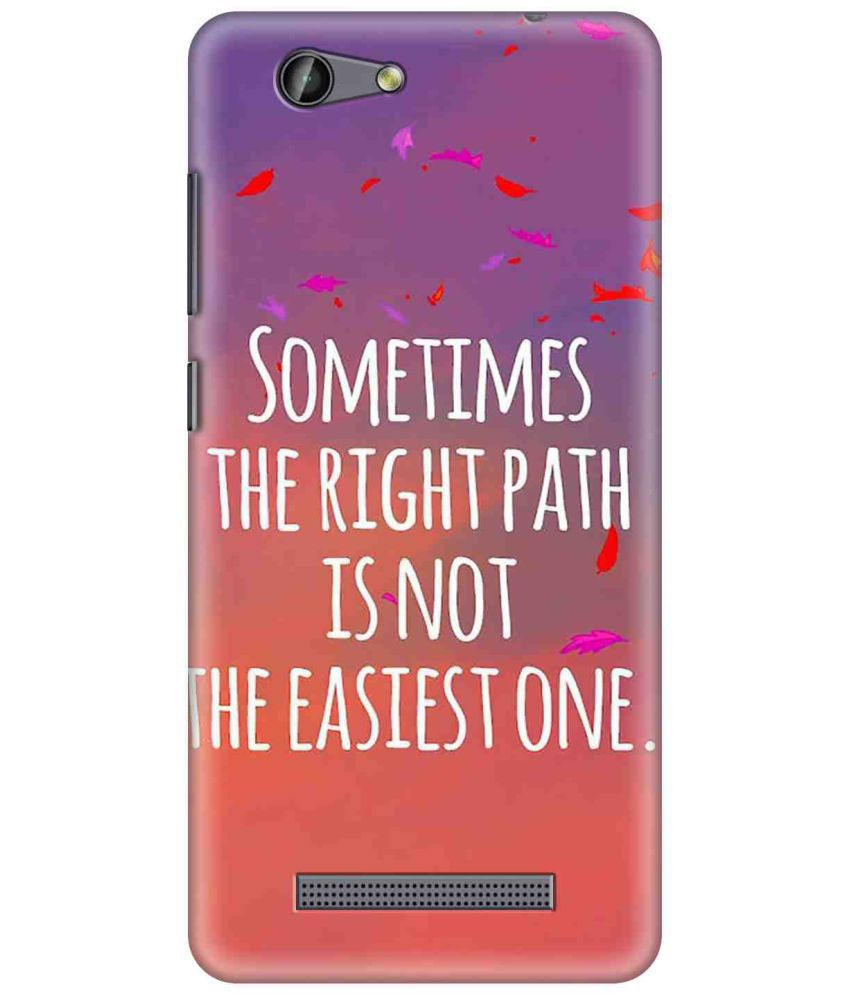 Gionee F103 Pro Printed Cover By SWAGMYCASE