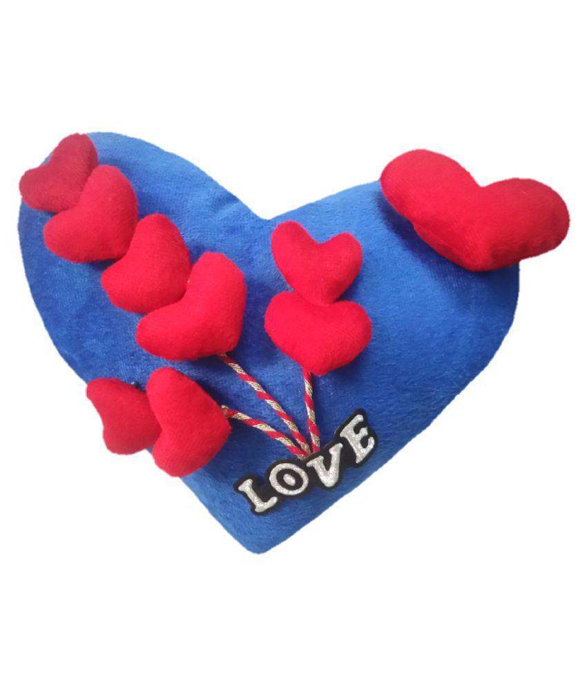 Luv U Heart Stuffed Cushion Soft Toy 4dss10 Buy Luv U Heart