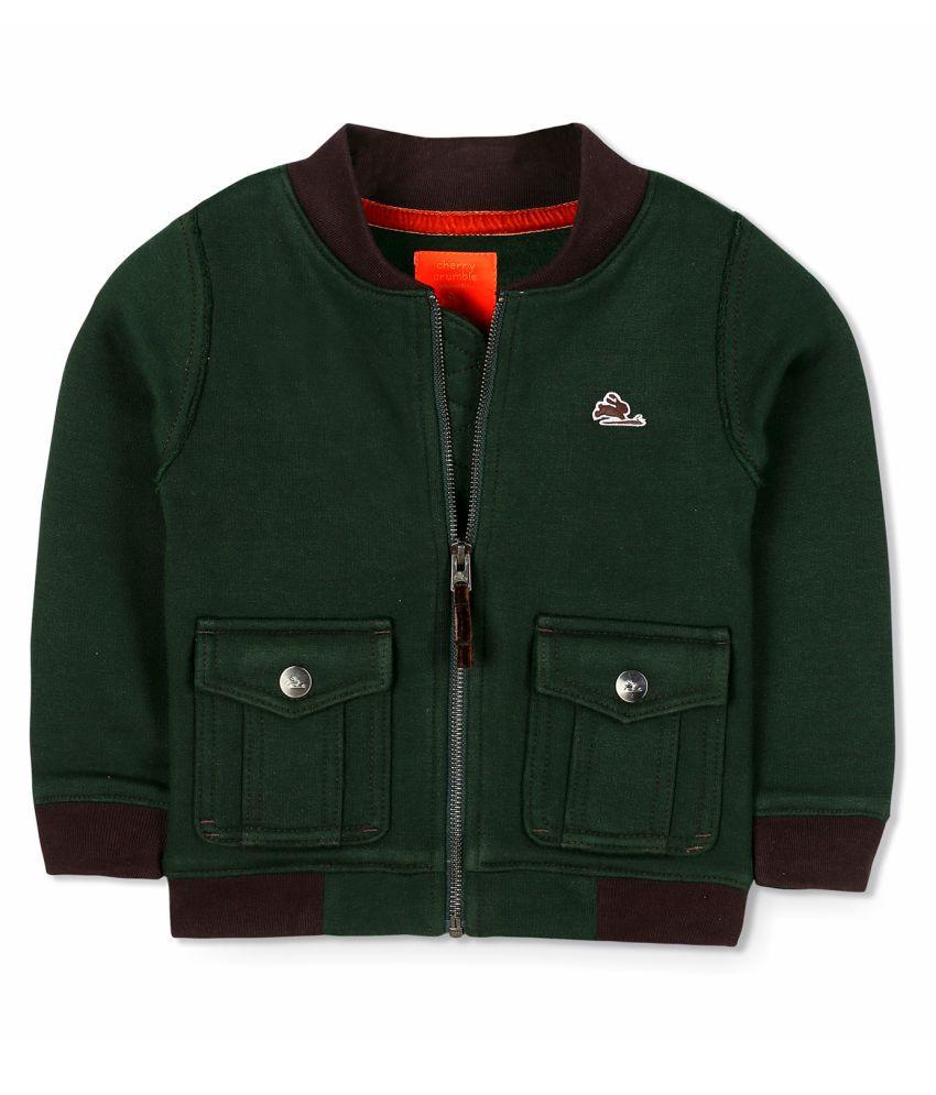 Cherry Crumble Box Fleece Jacket