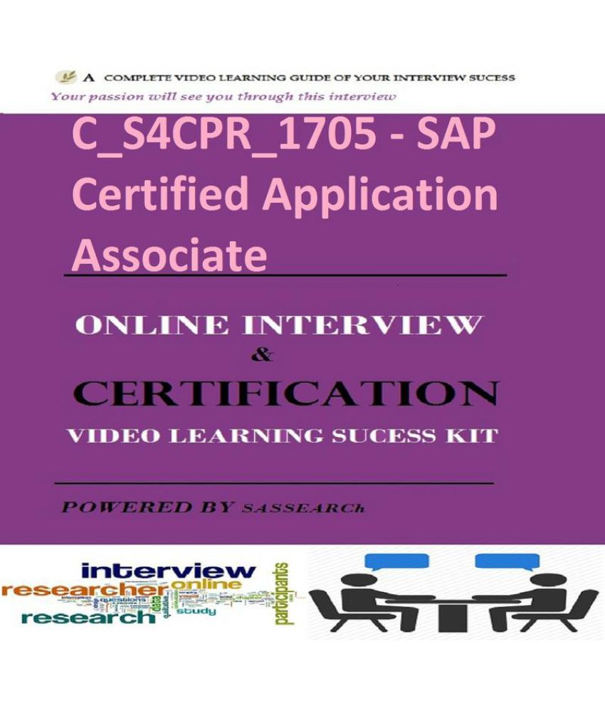 Cs4cpr1705 Sap Certified Application Associate Online