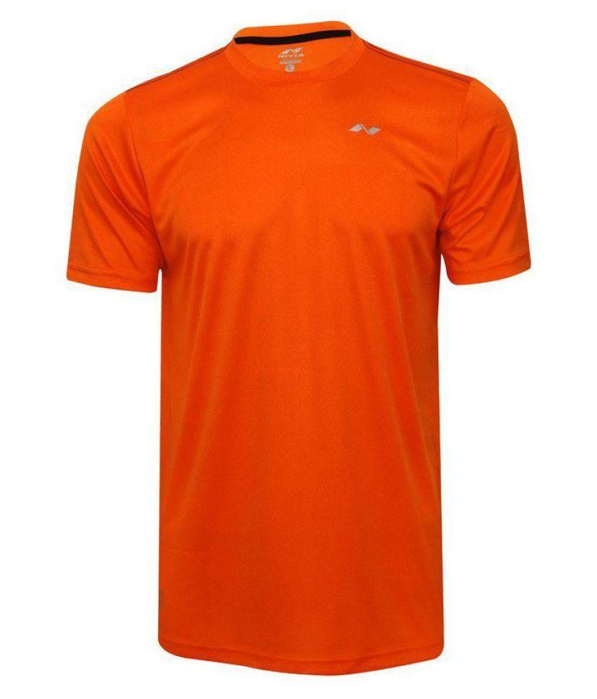 Nivia Orange Polyester Jersey