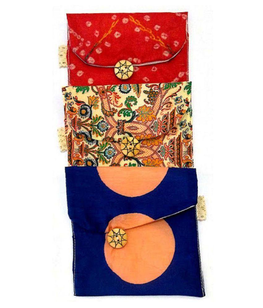 must visit Blue Vanity Kit and pouches - 3 Pcs