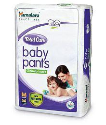 Himalaya Total Care Medium Size Baby Pants Diapers (54 Count)