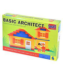 Royal Collections Basic Architect Block Set For Kids (Multicolor)