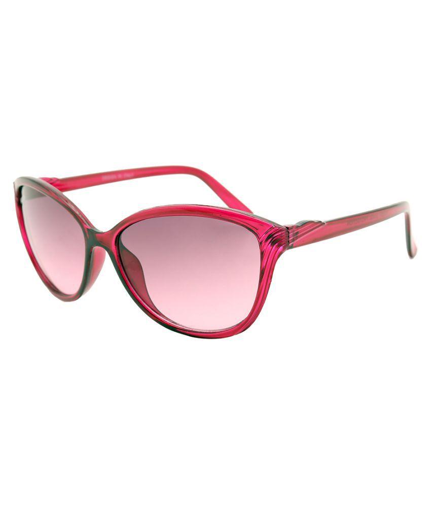 NASAN Purple Cat Eye Sunglasses ( SSW105 )