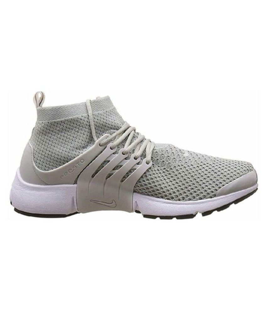 e1a33cecef3f4 Nike Presto Gray Running Shoes - Buy Nike Presto Gray Running Shoes Online  at Best Prices in India on Snapdeal