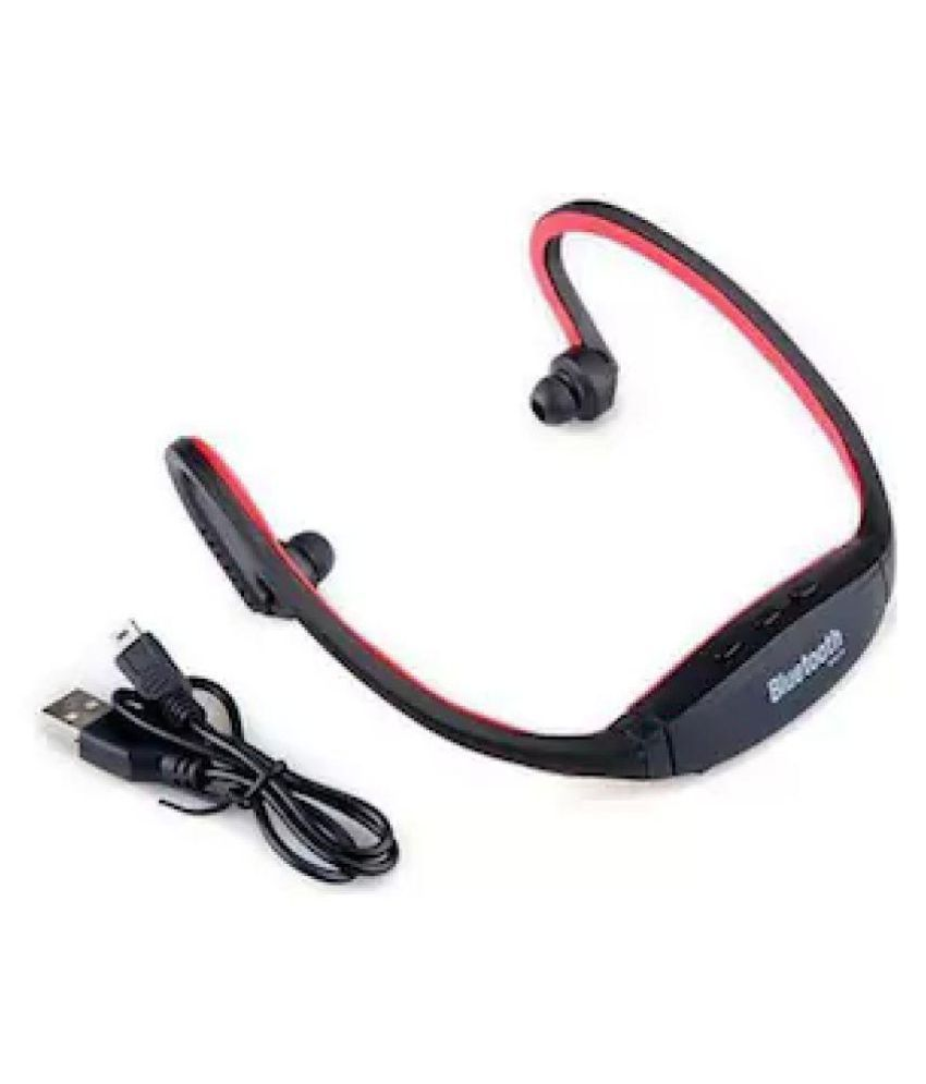 Queer Bluetooth Headset - Black - Bluetooth Headsets Online