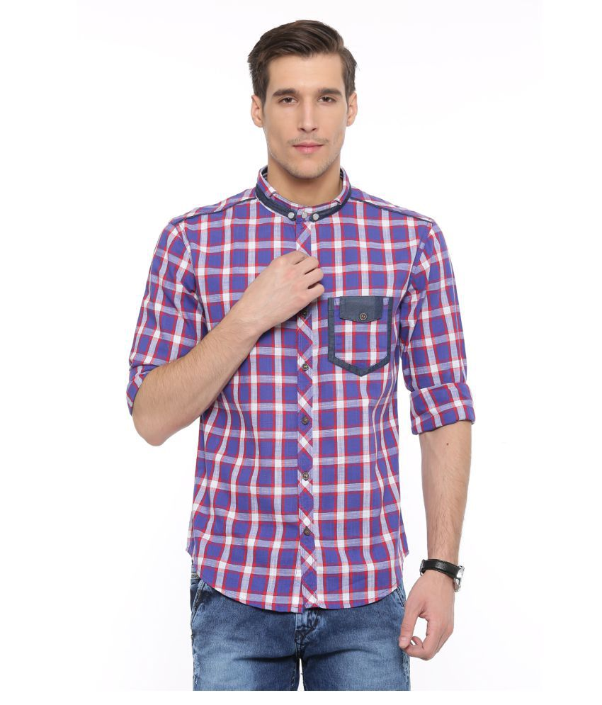 WITH Multi Casual Slim Fit Shirt