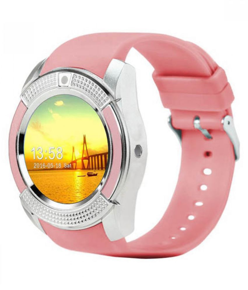 Mobilefit V9 Smartwatch suitable  for Galaxy j2 Smart Watches