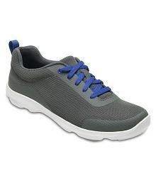 Crocs Gray Running Shoes