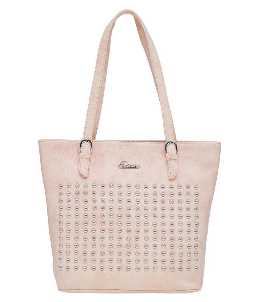 ESBEDA Pink P.U. Shoulder Bag