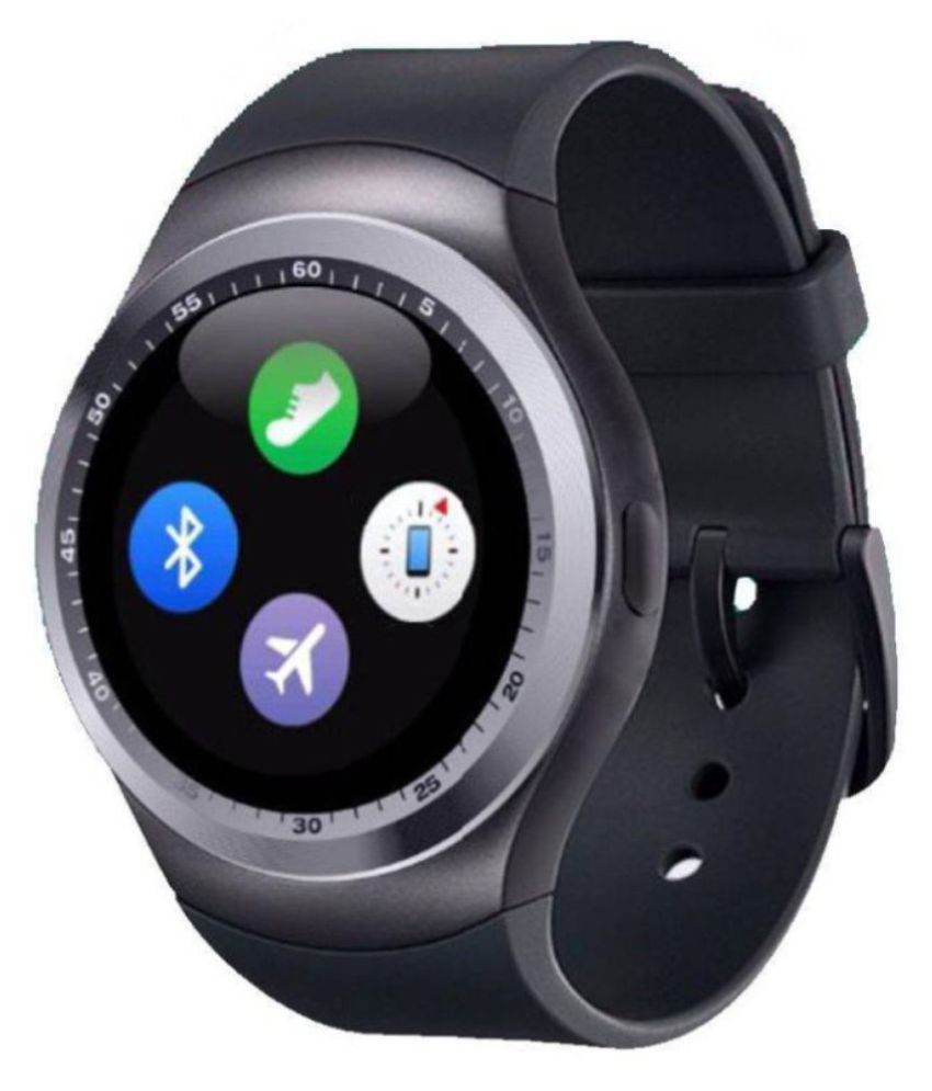 Mobilefit Y1 Smartwatch suitable  for Galaxy Grand Quattro Smart Watches