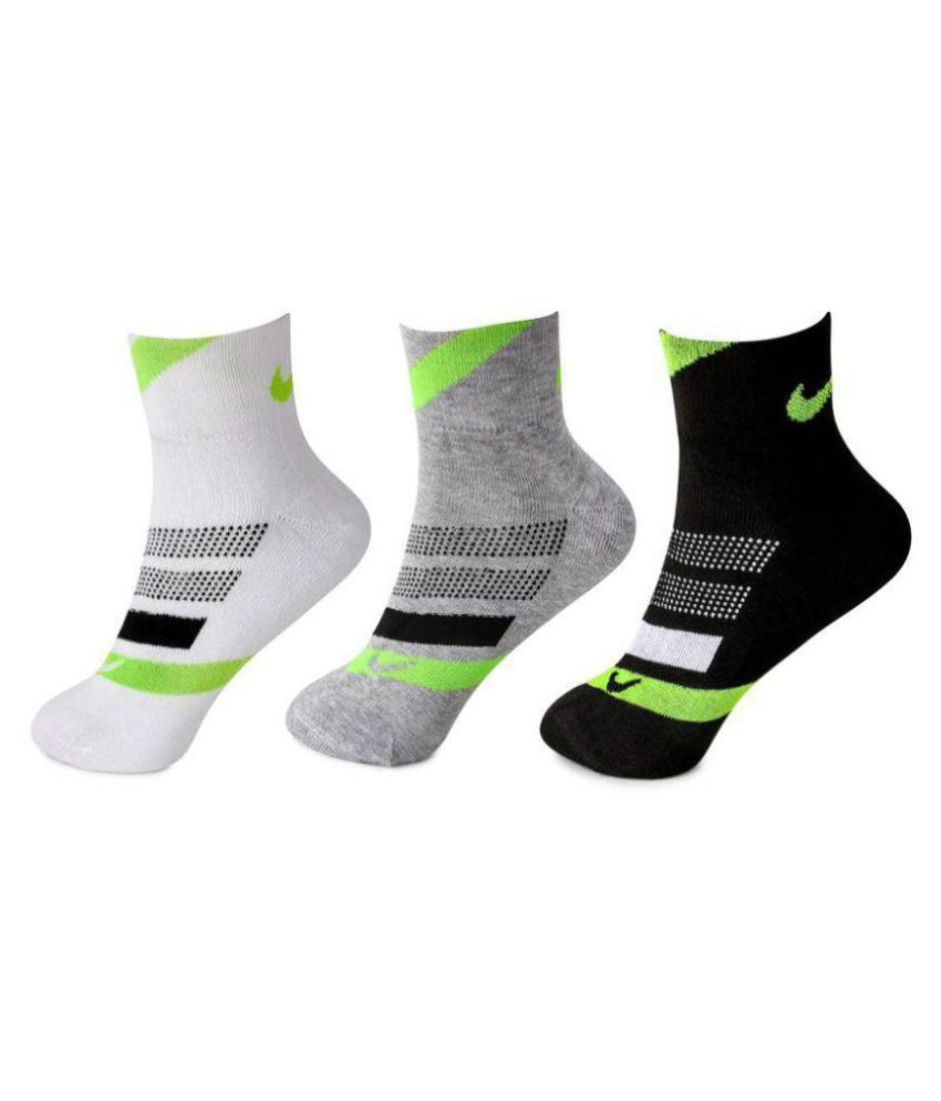 22d28b336 Nike Multi Casual Ankle Length Socks: Buy Online at Low Price in India -  Snapdeal