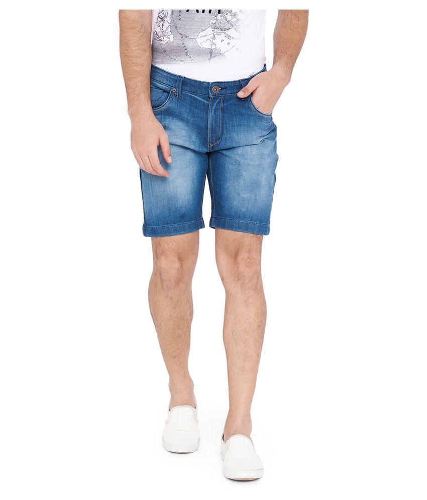 I-Voc Blue Shorts