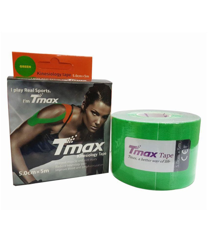 SOS Tmax Kinesiology Tape (Color may very) Pack of 3