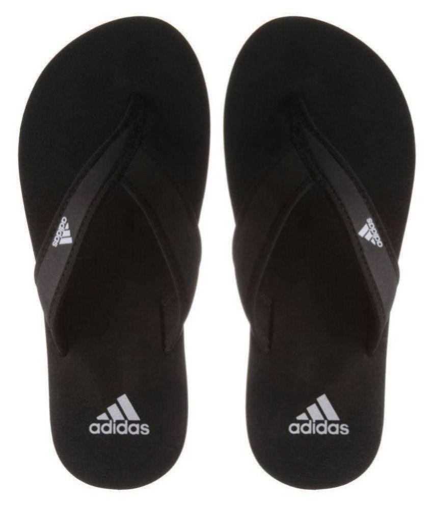 7c6ae15d0628 Adidas adi rio Black Daily Slippers Price in India- Buy Adidas adi ...