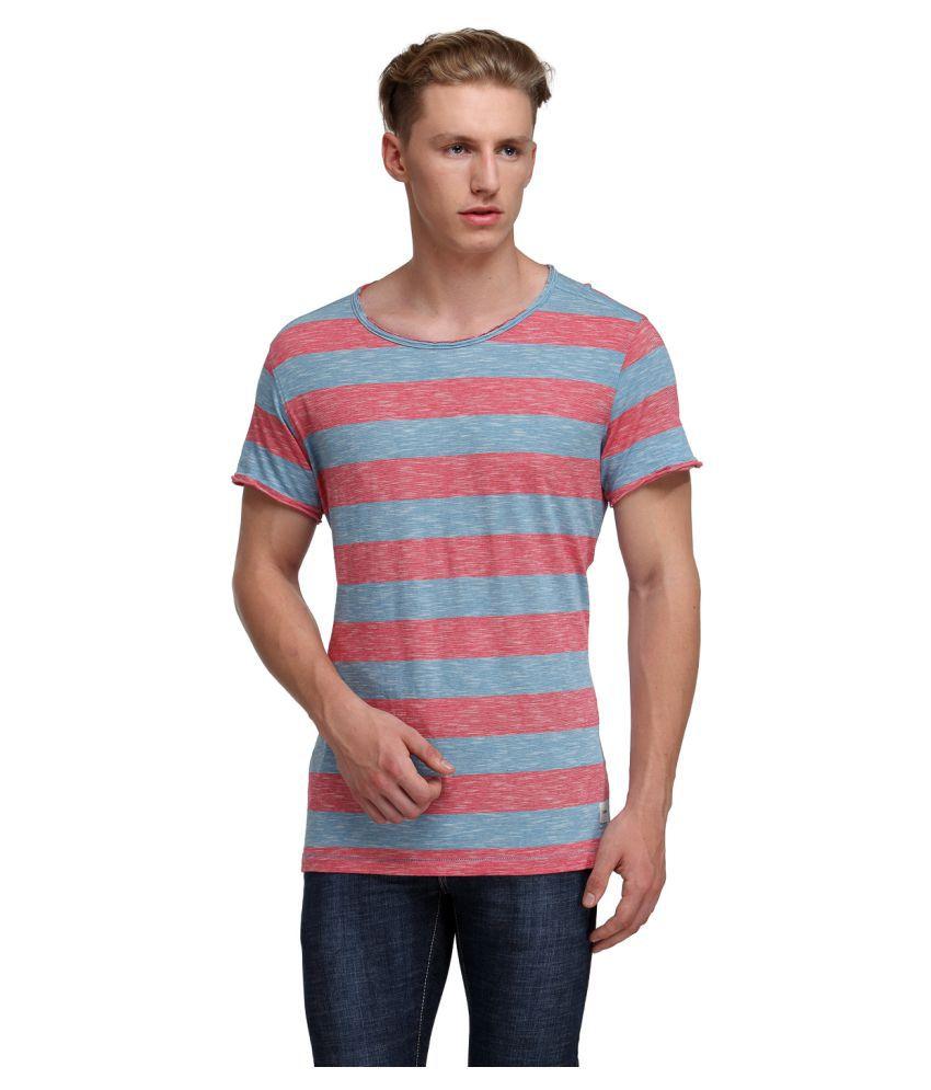KOTTY Red Round T-Shirt
