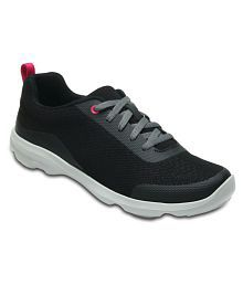 Crocs Black Running Shoes