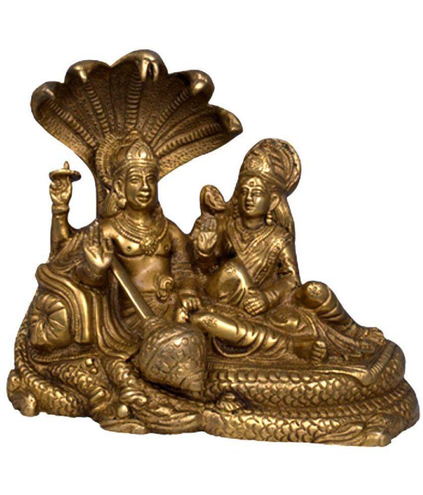 JY Vishnu Laxmi Brass Idol