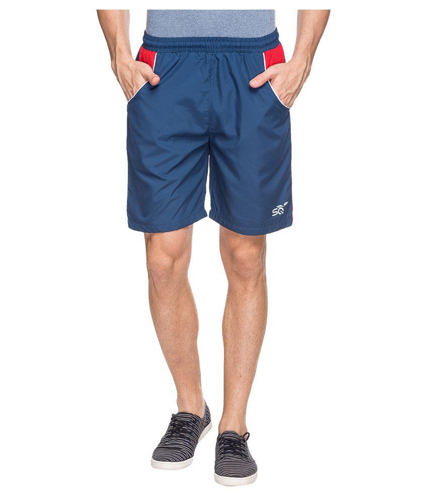 Status Quo Navy Shorts