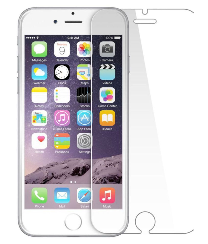 Apple iPhone 5S Tempered Glass Screen Guard By Robux 4D