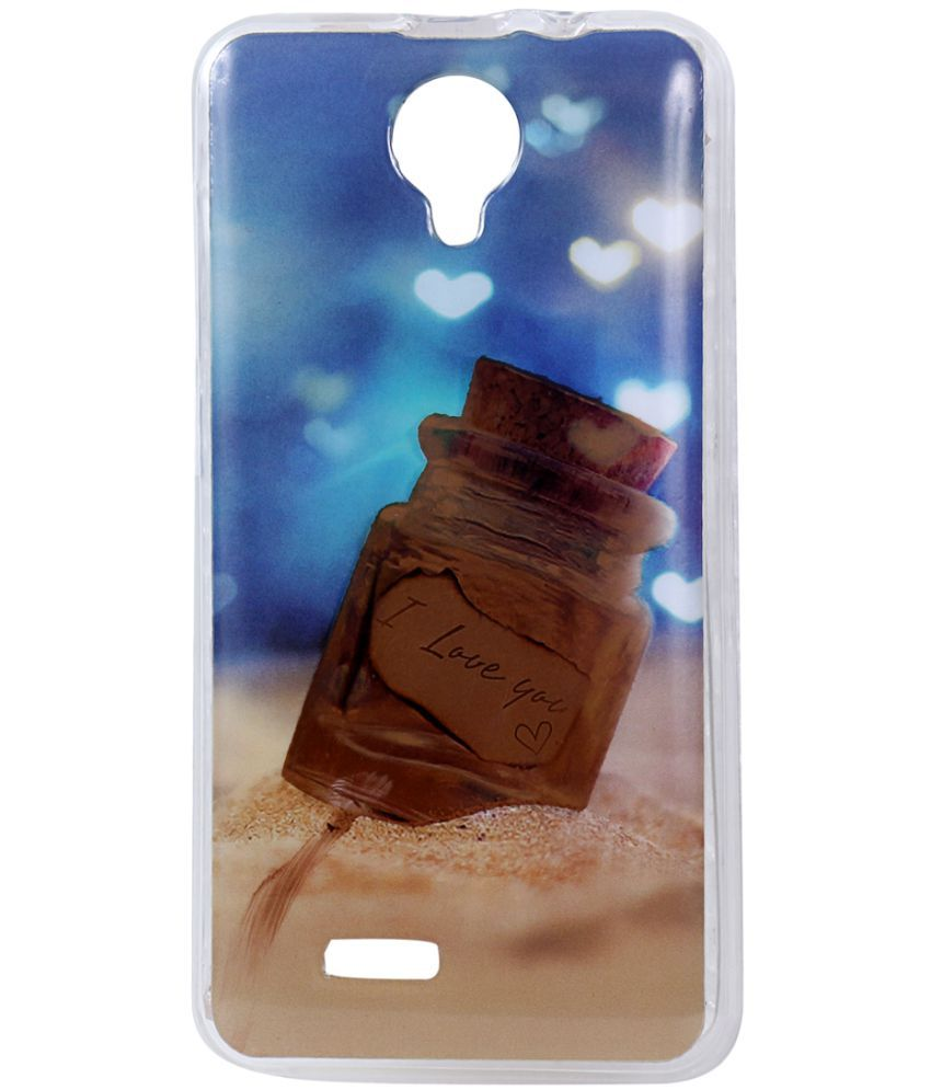 new style 629a7 5e3ed Micromax Spark Vdeo Q415 Printed Cover By SHOPPERSHUB