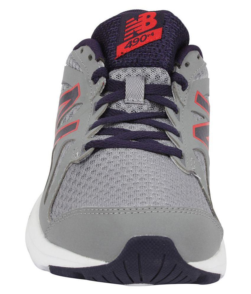 d6a8a9caa7ca0 New Balance M490CS4-Grey Gray Running Shoes - Buy New Balance ...