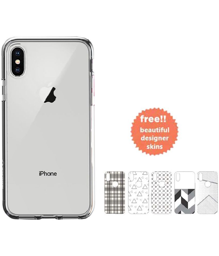 half off 85762 883da Apple iPhone X Soft Silicon Cases STUFFCOOL - Transparent
