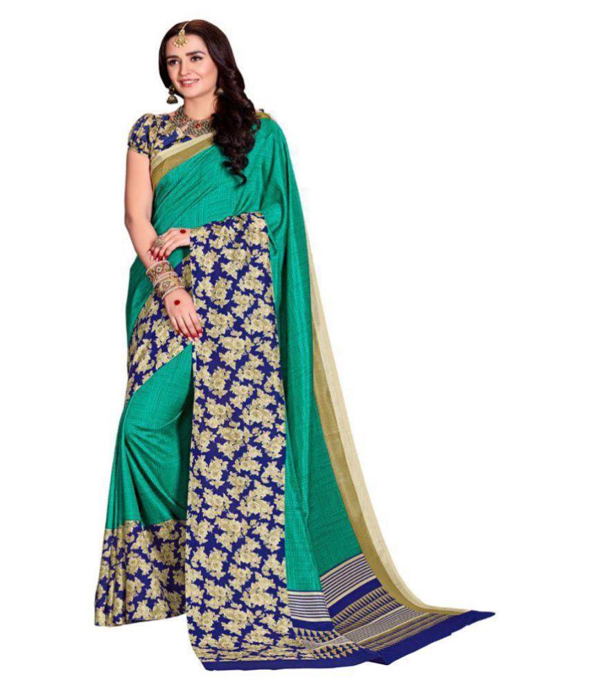Trendyaaradhya Multicoloured Silk Saree