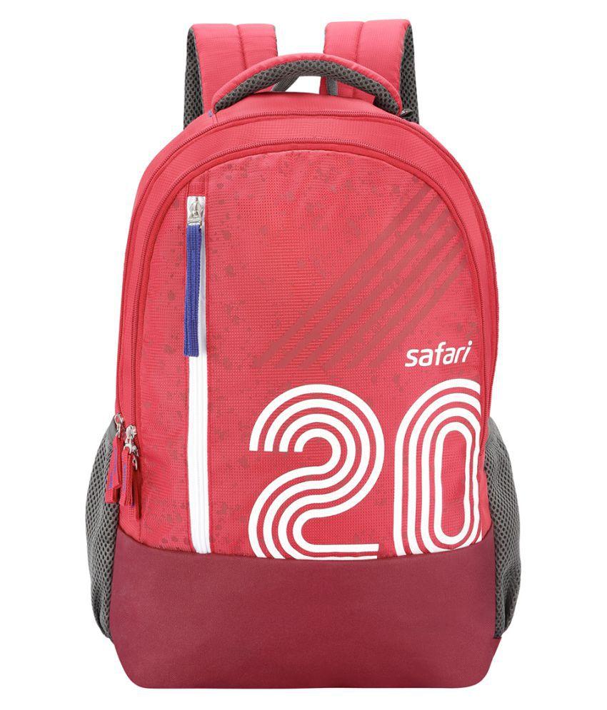 9e3771bc3112 Safari Branded Backpack Laptop Bags College Bags Red Twenty (27 Litres) -  Buy Safari Branded Backpack Laptop Bags College Bags Red Twenty (27 Litres)  Online ...